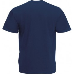 10 Stuks - Fruit of the Loom - V-Hals ValueWeight T-shirt (Donker Navy) maat L