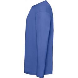 2 Stuks - Fruit of the Loom - ValueWeight Longsleeve T-shirt (Koningsblauw) maat XXXL (3XL)