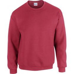 Gildan Zware Blend Unisex Adult Crewneck Sweatshirt voor volwassenen (Antiek kersenrood) maat S