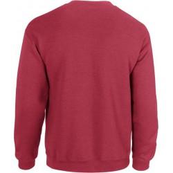 Gildan Zware Blend Unisex Adult Crewneck Sweatshirt voor volwassenen (Antiek kersenrood) maat M