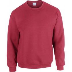 Gildan Zware Blend Unisex Adult Crewneck Sweatshirt voor volwassenen (Antiek kersenrood) maat L