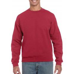 Gildan Zware Blend Unisex Adult Crewneck Sweatshirt voor volwassenen (Antiek kersenrood) maat XL