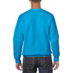Gildan Zware Blend Unisex Adult Crewneck Sweatshirt voor volwassenen (Antieke Saffier) maat S