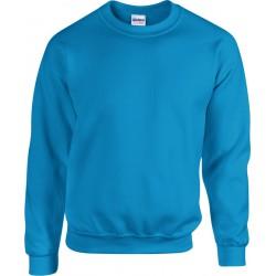 Gildan Zware Blend Unisex Adult Crewneck Sweatshirt voor volwassenen (Antieke Saffier) maat L