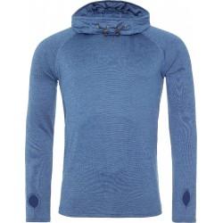 2 stuks - AWDis - Sport Hoodie (Koningsblauw gemeleerd) maat M