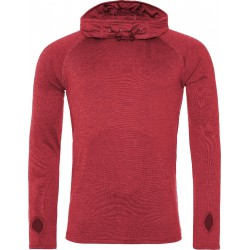 2 stuks - AWDis - Sport Hoodie (Rood gemeleerd) maat S