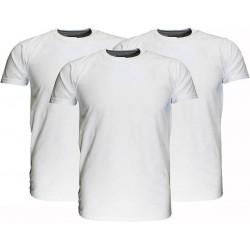Fruit Of The Loom  Blanco Katoenen T-Shirts 3 stuks pakket Wit maat 104