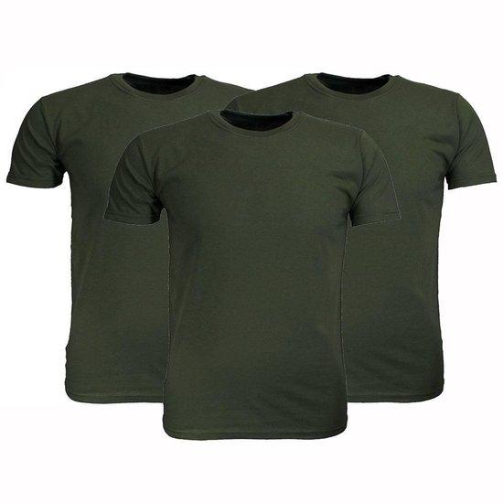 2 Stuks - Fruit of the Loom - T-shirt (Wit) Maat 4XL