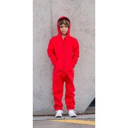 SF Onesie kinderen, Kleur Red, Maat 7/8 jaar