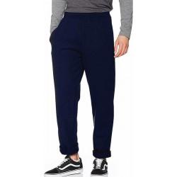 Joggingbroek Fruit of the Loom donkerblauw/deep navy voor volwassenen straight/open leg - Sportbroek/Trainingsbroek - Kleding S