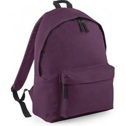 BagBase Backpack Rugzak - 18 l - Plum