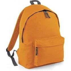 BagBase Backpack Rugzak - 18 l - Orange/Graphite