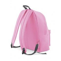 BagBase Backpack Rugzak - 18 l - Classic Pink/Grey