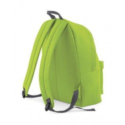 BagBase Backpack Rugzak - 18 l - Lime/Graphite