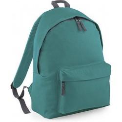 BagBase Backpack Rugzak - 18 l - Emerald/Graphit